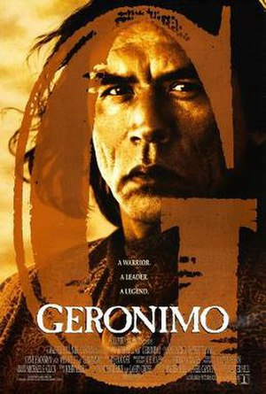 Geronimo: An American Legend - Theatrical release poster