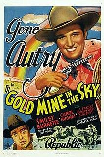 <i>Gold Mine in the Sky</i> 1938 film by Joseph Kane, Betty Burbridge