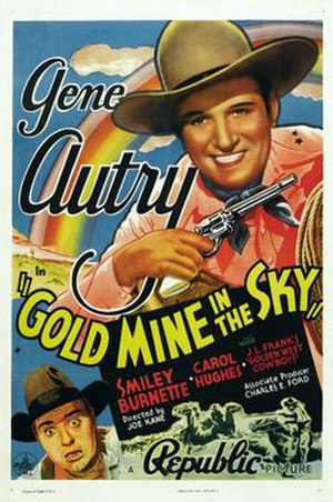 Gold Mine in the Sky - Image: Gold Mine in the Sky Poster