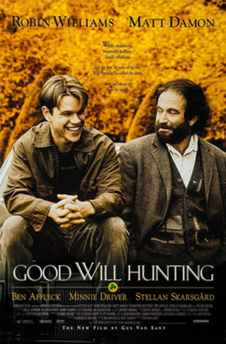Good Will Hunting - Theatrical release poster