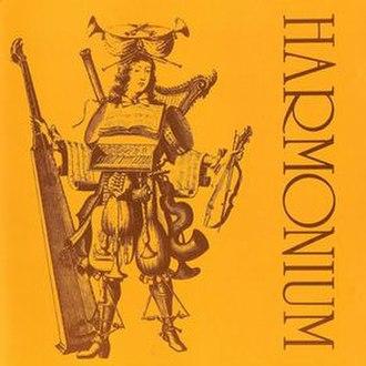 Harmonium (Harmonium album) - Image: Harmonium Album