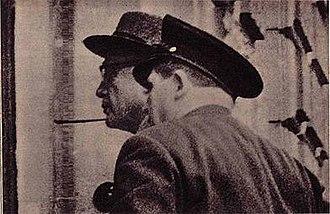 Action 14f13 - Dr. Werner Heyde during his arrest by a German policeman on 12 November 1959
