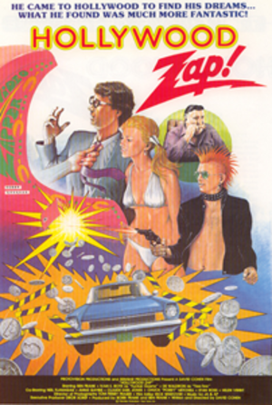 Hollywood Zap! - Theatrical release poster