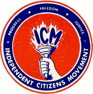 Independent Citizens Movement - Image: Independent Citizens Movement Logo
