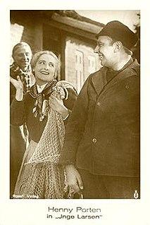<i>Inge Larsen</i> 1923 film by Hans Steinhoff