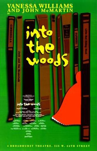 Into the Woods - A poster for the 2002 Broadway revival.