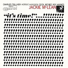 It's Time! (Jackie McLean album).jpg