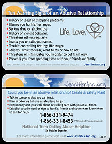 national dating abuse helpline Several different words are used to describe teen dating violence national domestic violence hotline love is respect national sexual.