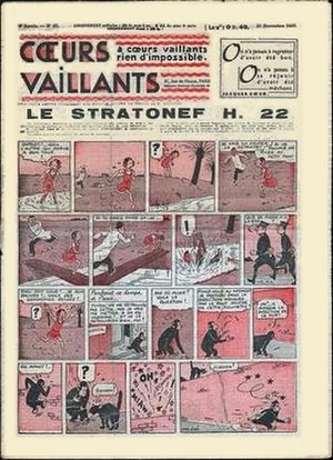 The Adventures of Jo, Zette and Jocko - Jo, Zette and Jocko in Cœurs Vaillants.