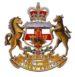 The King's Own Calgary Regiment (RCAC) - Image: KOCR