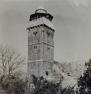 Al-Khadra Mosque - Minaret of al-Khadra Mosque, early 20th century