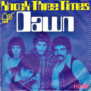 Knock Three Times - Image: Knock Three Times Tony Orlando & Dawn