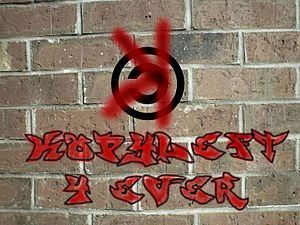 Tongue-in-cheek picture of the copyleft symbol...