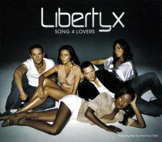 "Song 4 Lovers 2005 single by Joseph ""Reverend Run"" Simmons and Liberty X"
