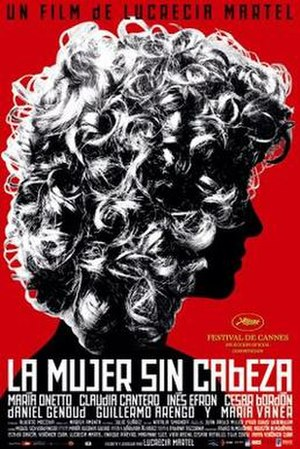The Headless Woman (2008 film) - Theatrical release poster