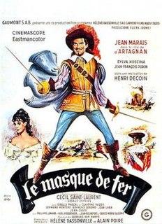 <i>Le Masque de fer</i> 1962 film by Henri Decoin