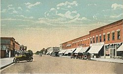 Lindsborg in the early 20th century