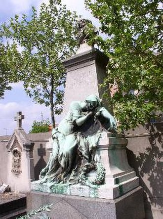 Henry Litolff - Henry Charles Litolff's tomb in Bois-Colombes