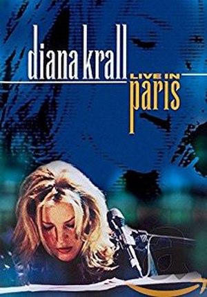 Live in Paris (Diana Krall album) - Image: Live in Paris DVD cover