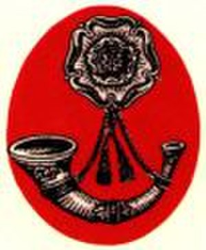 Liverpool Rifles - The cap badge of the Liverpool Rifles.
