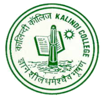 Logo of Kalindi College.png