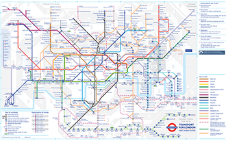 Londin Tube Map Tube map   Wikipedia