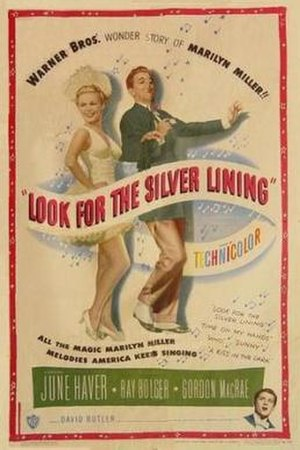 Look for the Silver Lining (film) - Theatrical release poster
