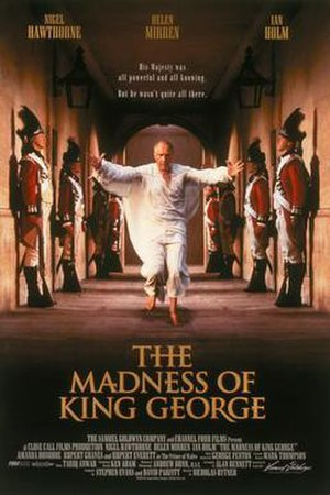 The Madness of King George - Original theatrical release poster