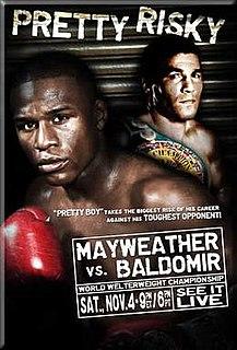 Floyd Mayweather Jr. vs. Carlos Baldomir Boxing competition