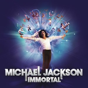 Immortal (Michael Jackson album) - Image: Michael jackson immortal album cover