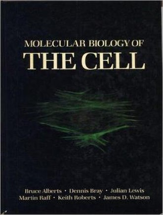Molecular Biology of the Cell (textbook) - Cover of the first edition