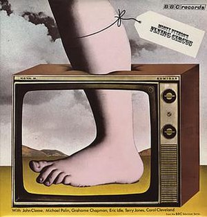 Monty Python's Flying Circus (album) - Image: Monty Pythons Flying Circus REB73M