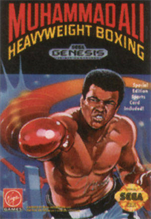 <i>Muhammad Ali Heavyweight Boxing</i> 1992 boxing video game
