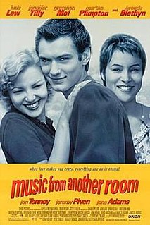 <i>Music from Another Room</i> (film) 1998 film