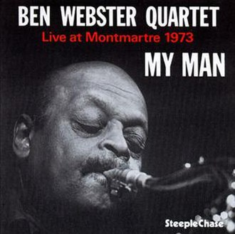 My Man: Live at Montmartre 1973 - Image: My Man Live at Montmartre 1973