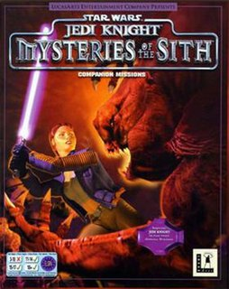 <i>Star Wars Jedi Knight: Mysteries of the Sith</i> video game