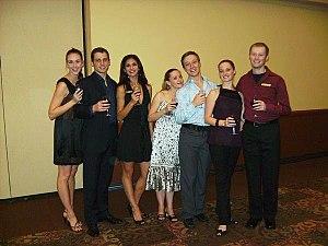 Wonderbound - Dancers Strathmeyer, Franklin ('07-'11), Guerra ('05-'10), King, Joyner ('06-'11), Meng, and Watson ('07-'11) at Nouveau at Night 2007