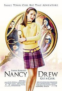 <i>Nancy Drew</i> (2007 film) 2007 film by Andrew Fleming