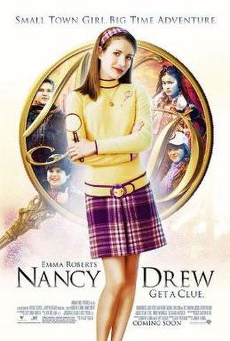 Nancy Drew (2007 film) - Theatrical release poster