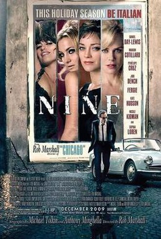Nine (2009 live-action film) - Theatrical release poster