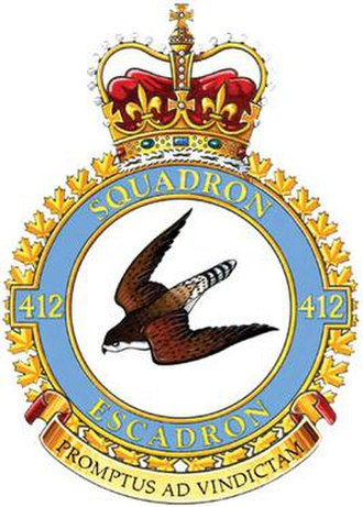 412 Transport Squadron - Image: No. 412 Squadron RCAF badge