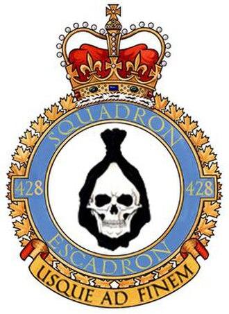 No. 428 Squadron RCAF - Image: No. 428 Squadron RCAF badge