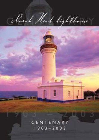 Norah Head Light - Cover of the Wyong Shire Council annual report, celebrating Norah Head Light's centenary