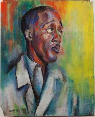 Norman Lewis (artist) - Self-Portrait (1939)