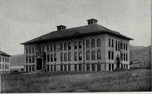 University of Utah Circle - The LeRoy Cowles Building in 1905.