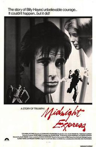 Midnight Express (film) - Theatrical release poster