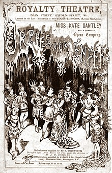 cover of theatre programme with drawing of the cast in ancient Greek costume