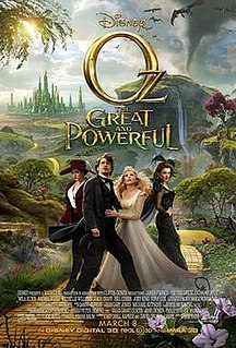 <i>Oz the Great and Powerful</i> 2013 fantasy adventure film directed by Sam Raimi