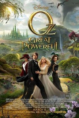 Oz the Great and Powerful - Theatrical release poster