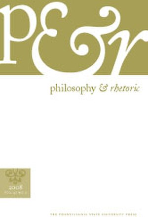 Philosophy & Rhetoric - Image: PR NEW